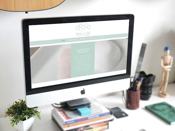 Website Skin A Lize, webdesign, middelburg, zeeland