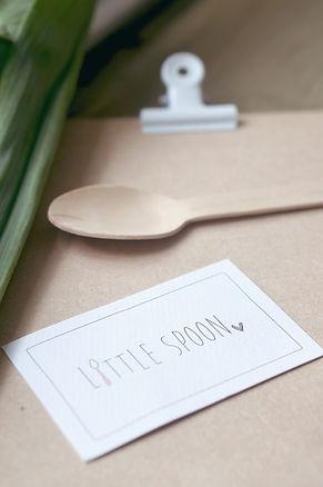 Visitekaart ontwerp, zeeland, little spoon,