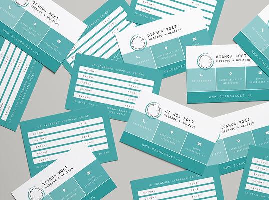 Visitekaart ontwerp, kortingskaart ontwerp, zeeland, middelburg, grafisch ontwerp