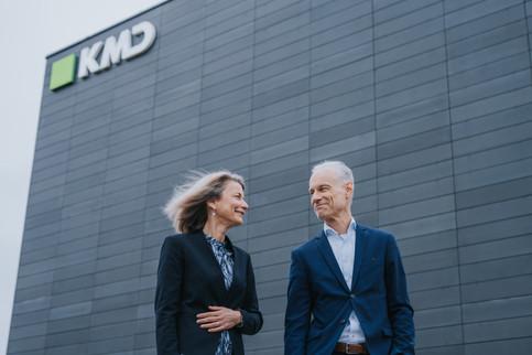 Pressebillede for KMD ledelse. Ballerup, Danmark. 2021.