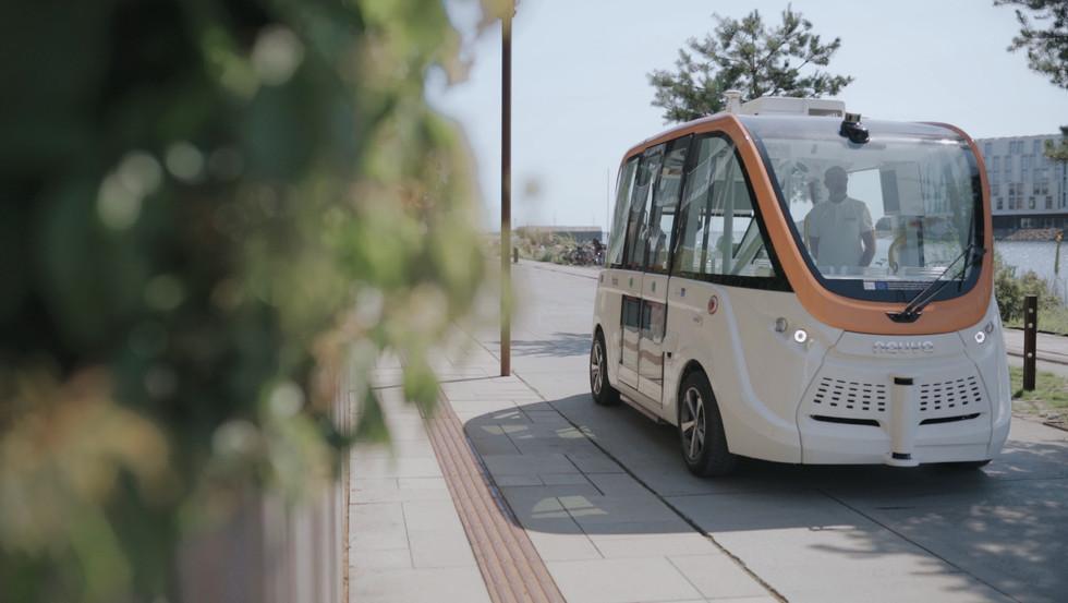 Holo - Selvkørende bus