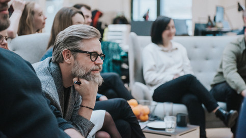Stemningsbillede af Holo-medarbejdere til hjemmeside. Holo. København, Danmark. 2020.