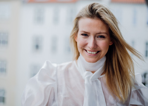 Portræt af Carla Chloe. København, Danmark. 2019.