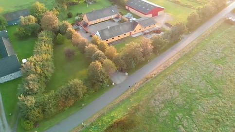Dronefilm af Stendyssegaard. Borup, Danmark, 2019.