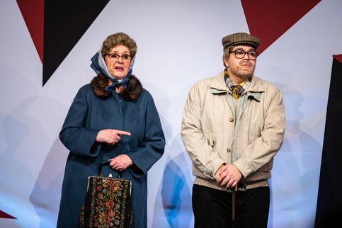 Anne Karin Broberg og Lukas Birch. Jægerspris Revyen 2020. Forpremiere.