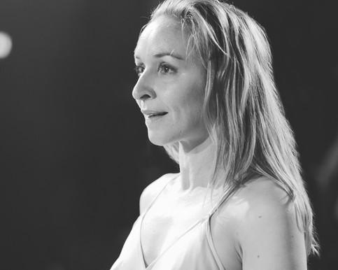 Portræt af Sonja Richter. Klampenborg, Danmark.
