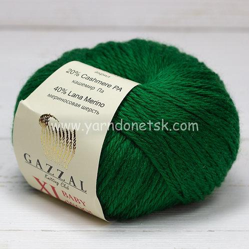 Baby wool XL 814 меринос 40% кашемир 20% акрил 40%