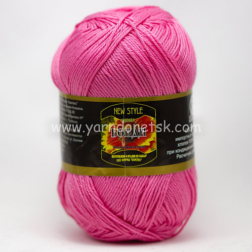 Бонди супер розовый 054 хлопок 100%