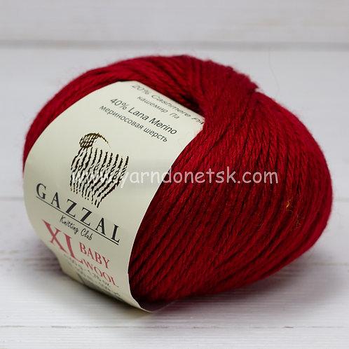 Baby wool XL 816 меринос 40% кашемир 20% акрил 40%