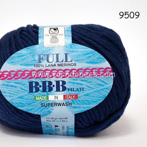 Full 9509 тем синий меринос 100%