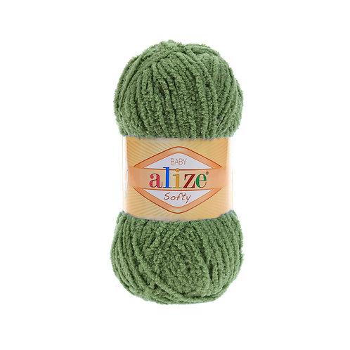 Softy 485 зеленая черепаха микрополиэстер 100%