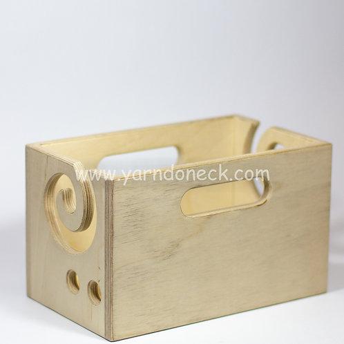 Клубочница для пряжи - ящик
