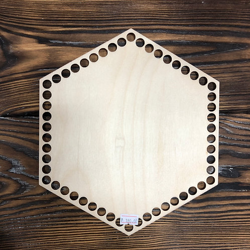 Донышко шестиугольник 20см