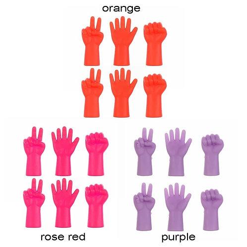 Наконечники для спиц ручки цвет оранжевый 1шт