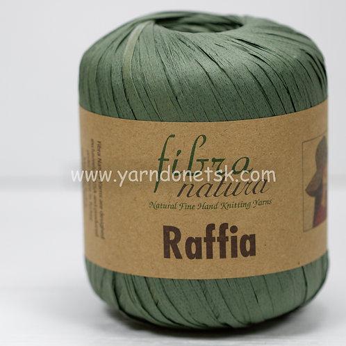 Raffia 116-05 натуральная целлюлоза 100%