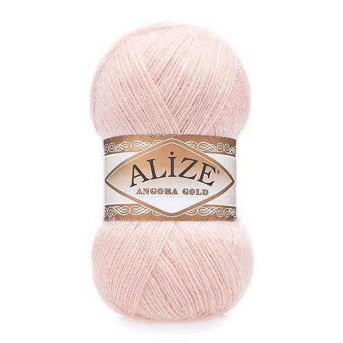 Angora Gold 271 жемч розовый шерсть 20% акрил 80%