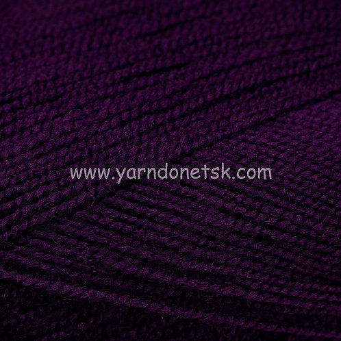 Бисерная тем фиолетовый 698 акрил 100%