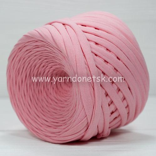 Трикотажная пряжа нежно розовый хлопок 100%