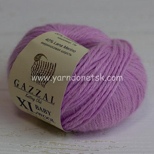 Baby wool XL 823 меринос 40% кашемир 20% акрил 40%