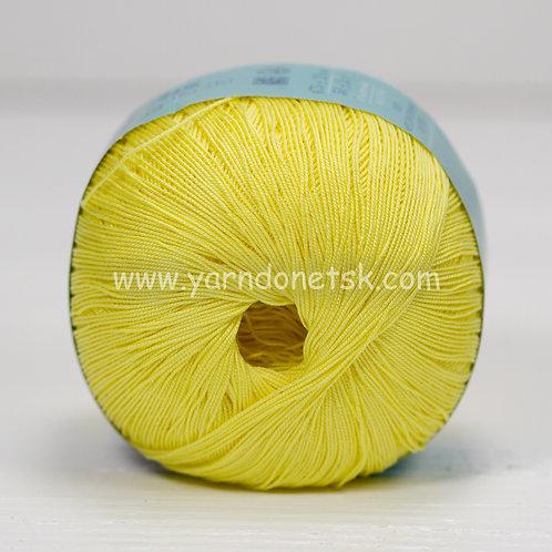 Цветное кружево св желтый 53 хлопок 100%