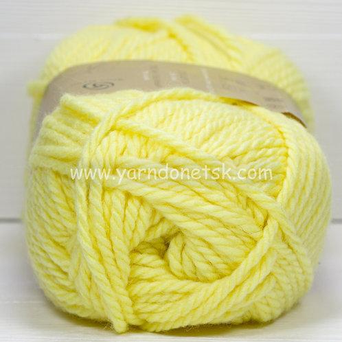 Осенняя св желтый 53 шерсть 25% акрил 75%