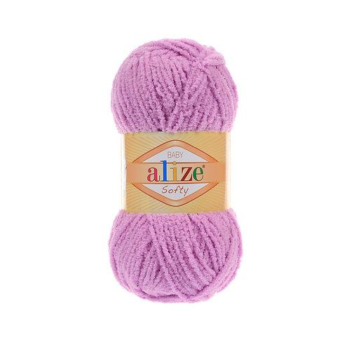 Softy 672 нежно розовый микрополиэстер 100%