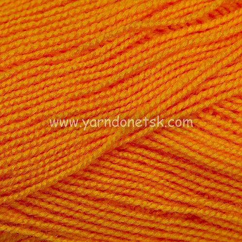 Бисерная желто оранжевый 495 акрил 100%