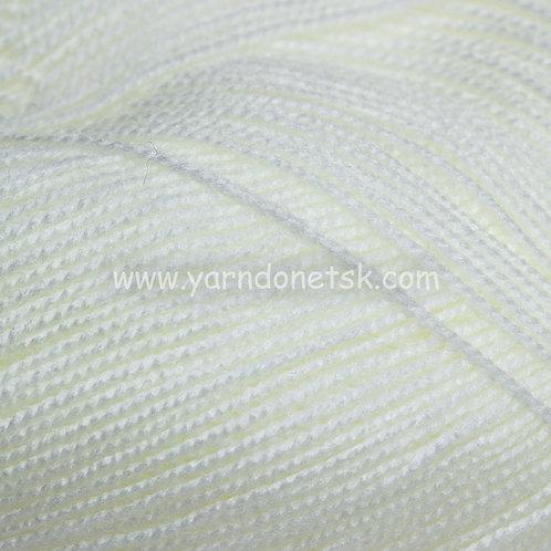 Бисерная белый 01 акрил 100%