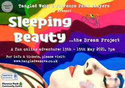 SLEEPING BEAUTY poster for end card