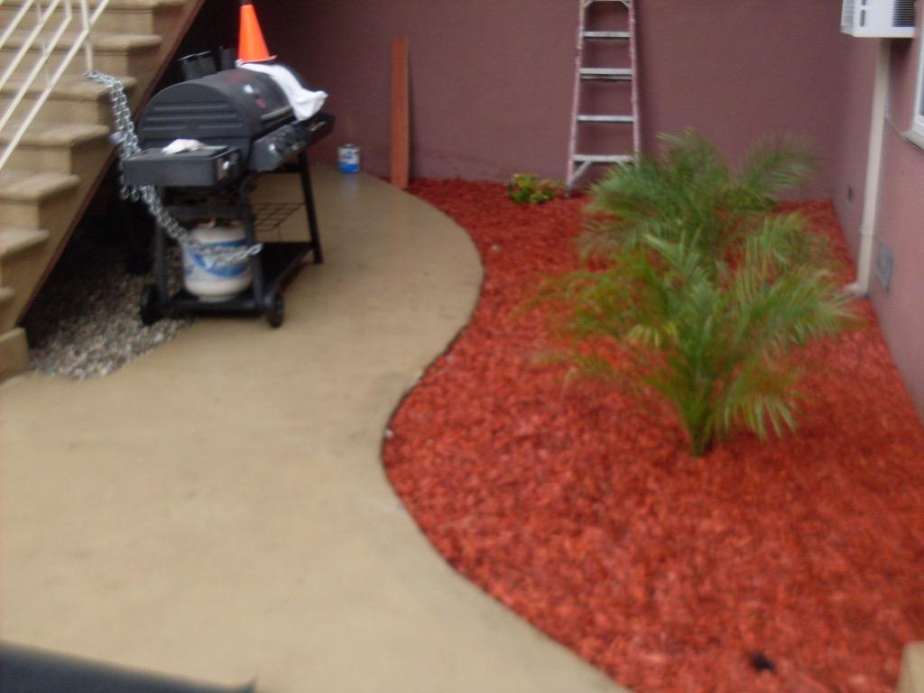 Mulching and Planting