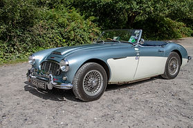 Steve Everest's Austin Healey 3000Mk1 -