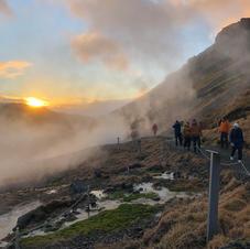 Hiking Iceland