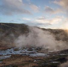Reykjadalur Panorama