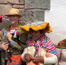 4 Ladies and a Lamb - Cuzco