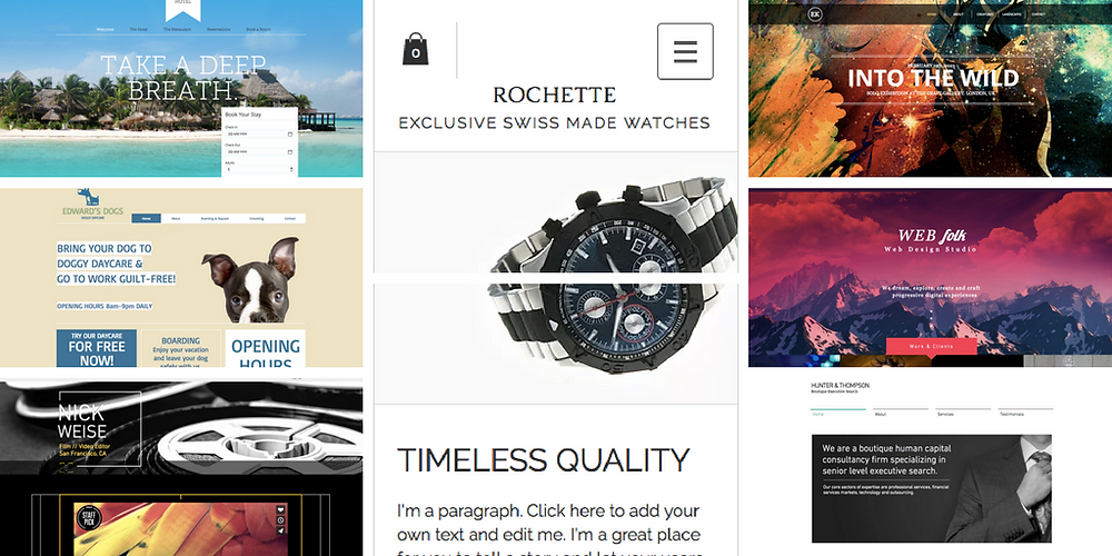 7 Wix Website Templates to Inspire You
