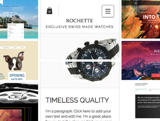 14 examples of Wix website templates to inspire you