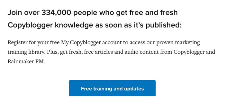 copyblogger social proof in numbers