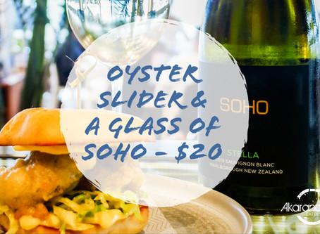 Slider & Soho - $20