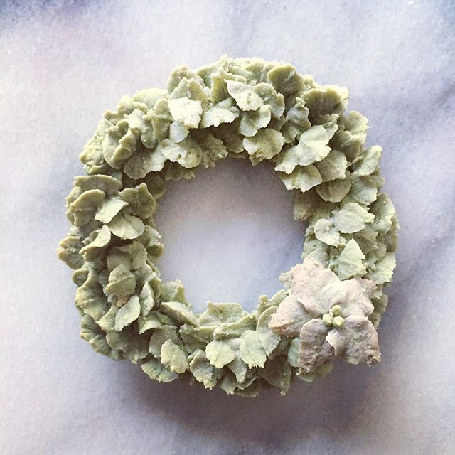 wreath cookie class