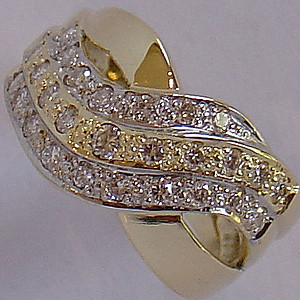Gold & Diamond Ring Collection