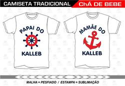 CHA DE BEBE KALEB