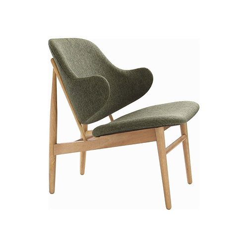 Veronic Lounge Chair - Oak & Forest
