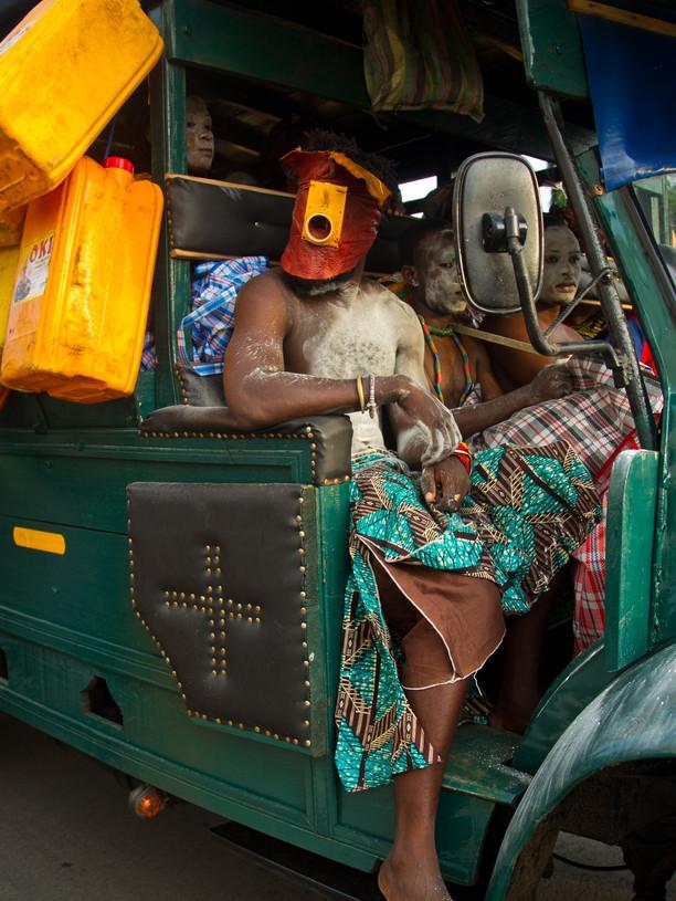 Serge Attukwei Clottey: My Mother's Wardrobe