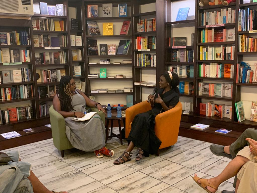 Reading at Book Lounge