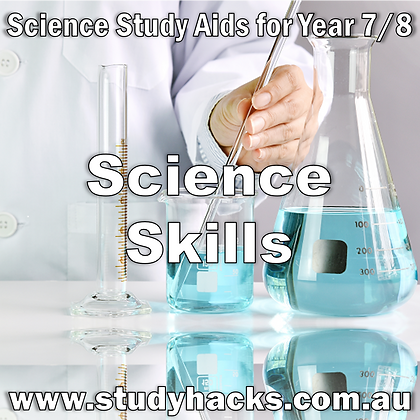 Year 7/8 Science Study Notes Skills Laboratory Equipment Investigating Communication exam test quiz past papers yearlys
