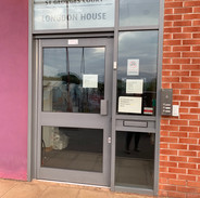 Longdon House entrance