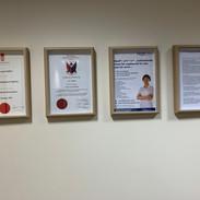 Professional certificates