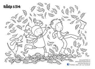 kleurplaat Kolletje Herfst.jpg