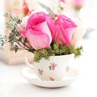 Vinage Tea Cup and Saucer