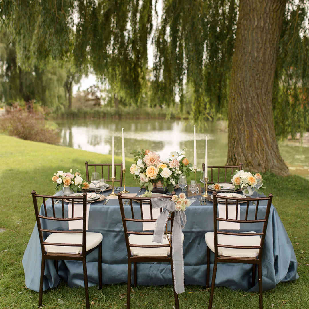 Late Summer Outdoor Wedding